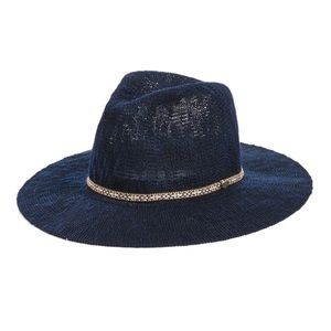 Volcom • Navy City Trooper Fedora Woven Hat